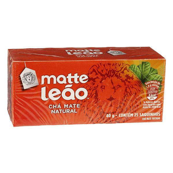 CHÁ MATTE LEÃO NATURAL 40G